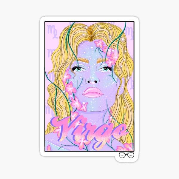 VIRGO. Sticker