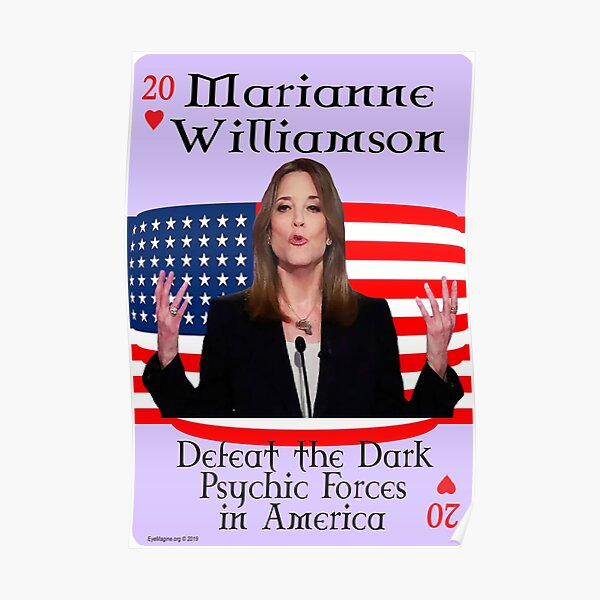 Marianne Williamson Card Poster
