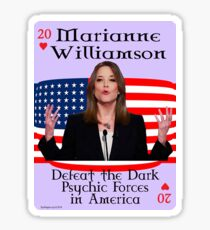 Marianne Williamson Card Glossy Sticker