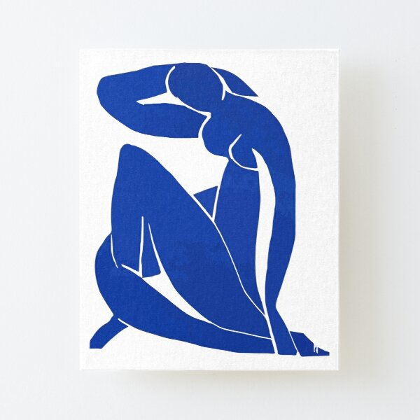 Henri Matisse - Blue Nude 1952 - Original Artwork Reproduction Canvas Mounted Print