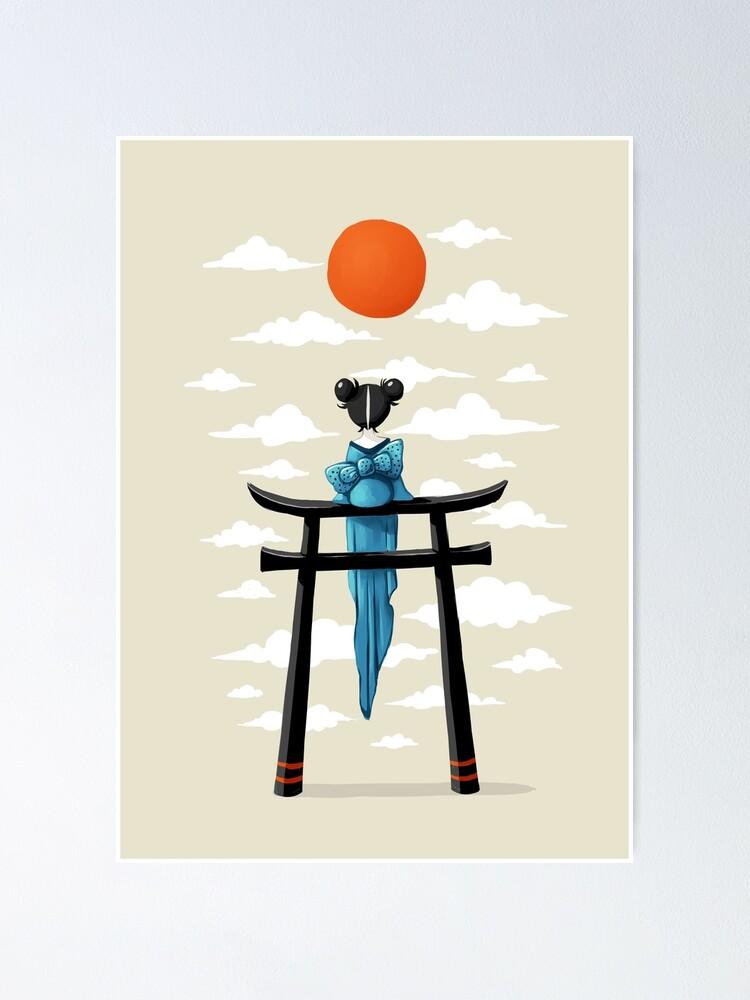 Alternate view of Torii Poster