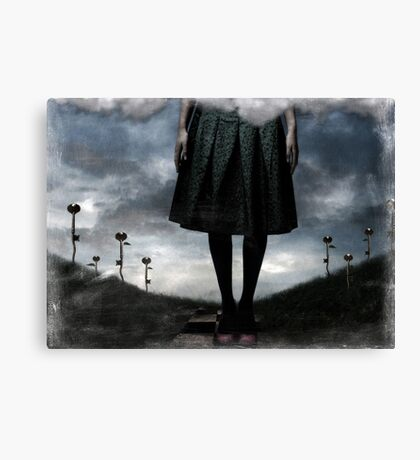 Ate It Canvas Print