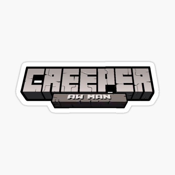 Minecraft Song Stickers Redbubble