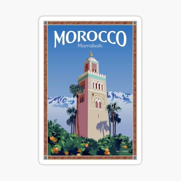 Visiter Marrakech Sticker