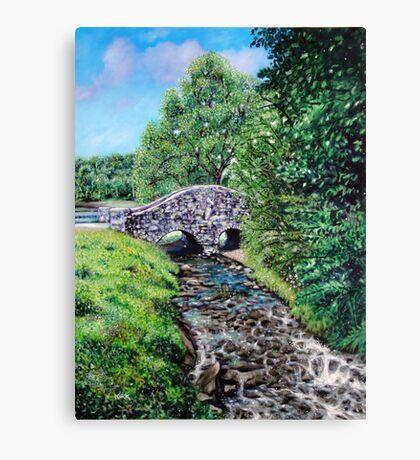 'The Bridge at Bass Lake' Canvas Print