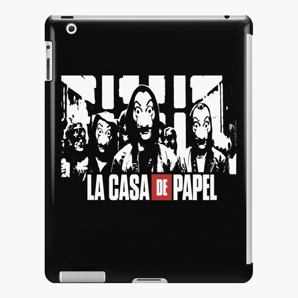 La Casa De Papel Money Heist Wallpaper Tv Show Stencil Ipad