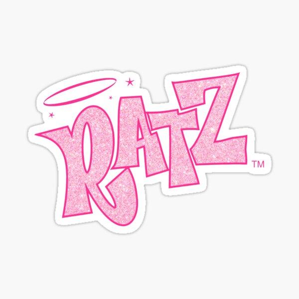 Logo de rats scintillants Sticker