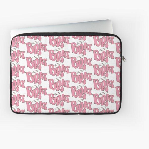 Pink Brat logo  Laptop Sleeve