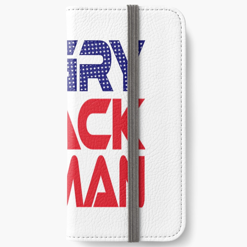 #OurPatriotism: Angry Black Woman (Red, White, Blue) by Onjena Yo iPhone Wallet