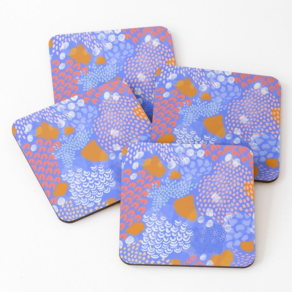 Midnight Garden Coasters (Set of 4)