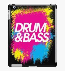 Drum & Bass (splash) iPad Case/Skin