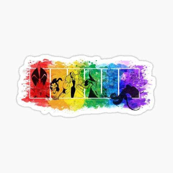 Villains' Pride Sticker