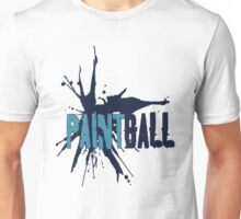 Paintball Blue2 Unisex T-Shirt