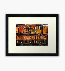 Train Crane Framed Print
