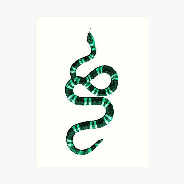 Gucci Snake Wall Art Redbubble