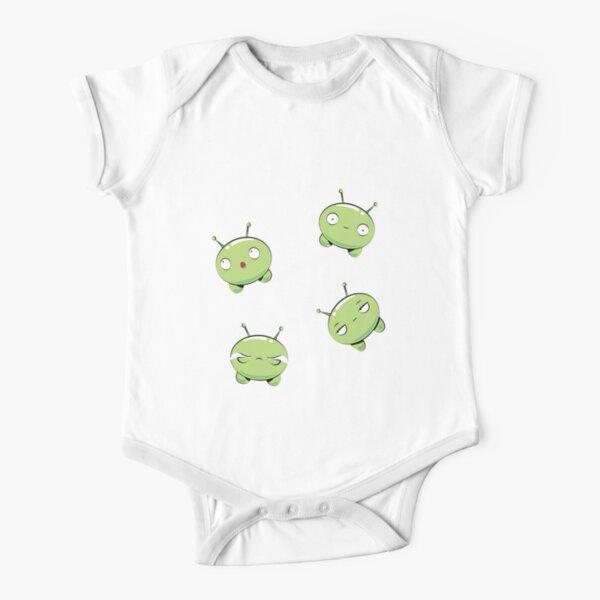 Green Final Space Mooncake Inspired Cute Babys Babygrow//Vest