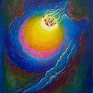 Rose Nebula  by Theresa Hill