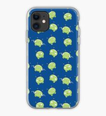 Mooncake Final Space Pattern Blue iPhone Case