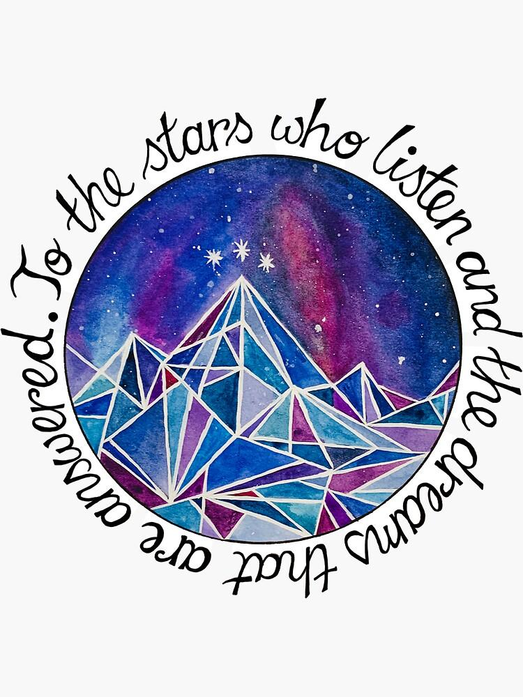 The Stars Who Listen by JulietsJournal