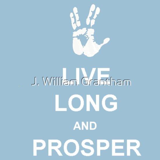 TShirtGifter presents: Live Long And Prosper
