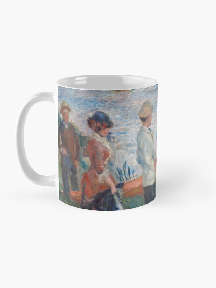 Alternate view of Oarsmen at Chatou Painting by Auguste Renoir Mug