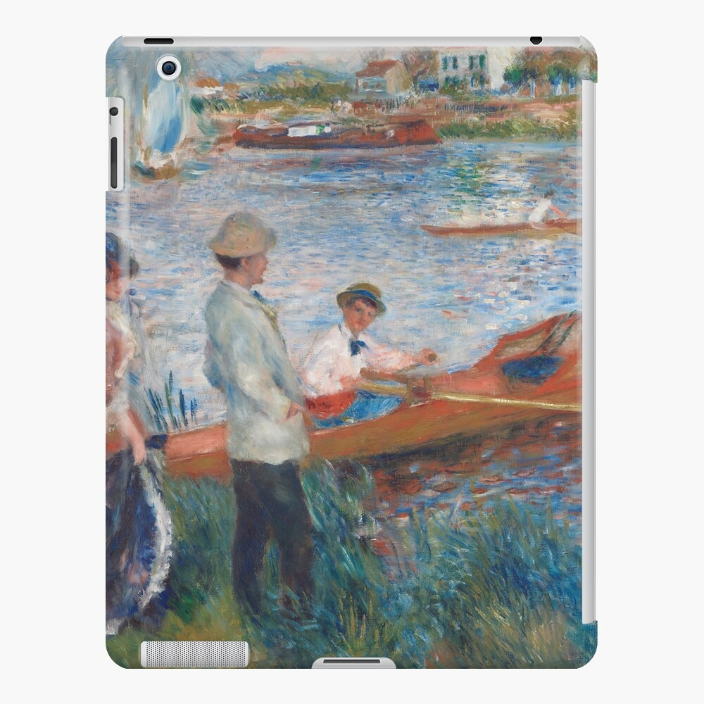 Oarsmen at Chatou Painting by Auguste Renoir iPad Case & Skin