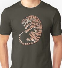 Asian Style Tiger No. 2 Unisex T-Shirt