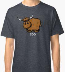Heilan' Coo –white text Classic T-Shirt