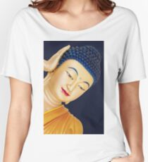 buddha face Women's Relaxed Fit T-Shirt