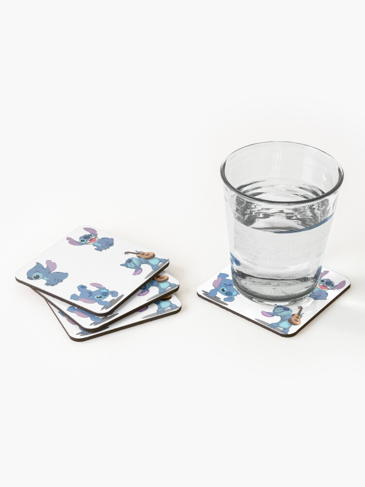 Alternate view of Stitch Stickers-4 Pack Coasters (Set of 4)