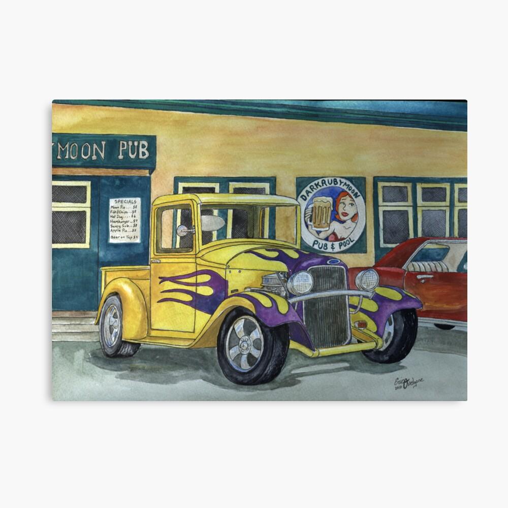 1932 Hot-Rod Pickup Canvas Print