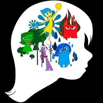 Inside Out Girl (DARK BACKGROUND) by javics