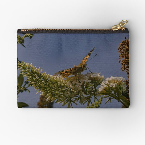 Butterfly  - Vibrant Aesthetic Travel Photography Zipper Pouch