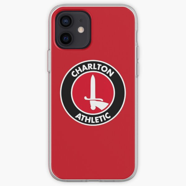 Charlton Athletic FC logo iPhone Soft Case
