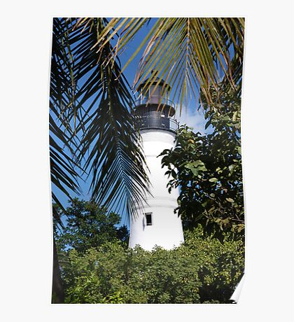 The Lighthouse in Key West, FL Poster