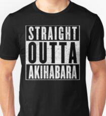 Otaku with Attitude: Akihabara Unisex T-Shirt
