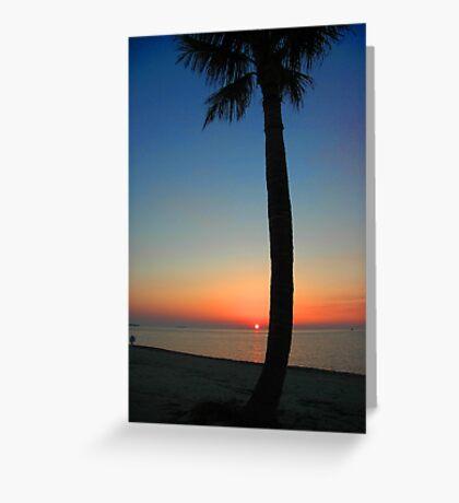 Sunset at Sunset Key, Florida Greeting Card