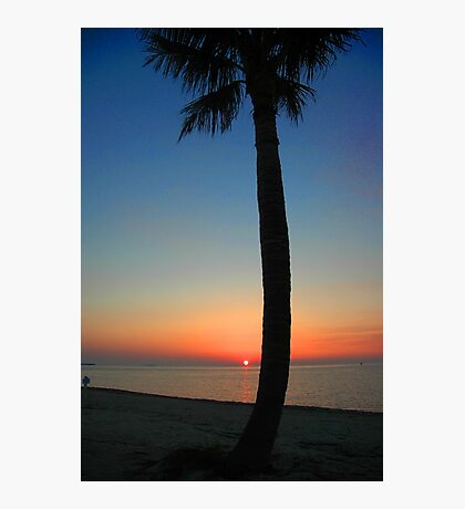 Sunset at Sunset Key, Florida Photographic Print