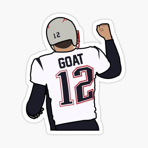"""Brady """"Goat"""" Sticker"""