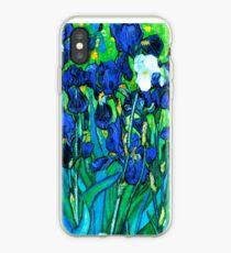 Van Gogh Garden Irises HDR iPhone Case