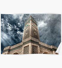 Casablanca Mosque Poster