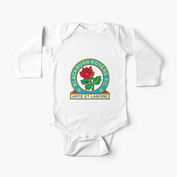 Blackburn Rovers FC logo Long Sleeve Baby One-Piece