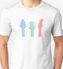 Guitar Colour Unisex T-Shirt