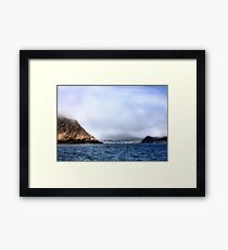 Unveiling the Beauty Framed Print
