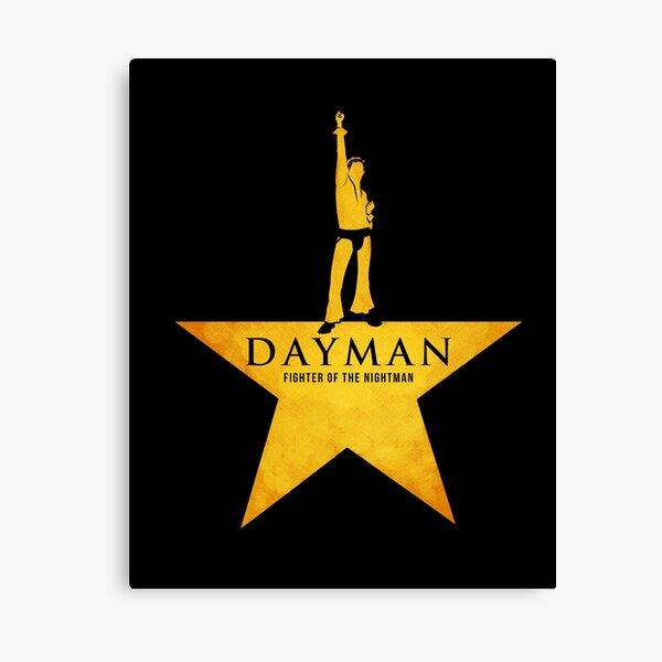 Dayman, luchador del Nightman Lienzo