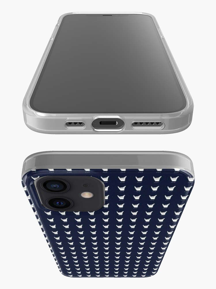 Alternate view of hang 10 navy blue iPhone Case & Cover
