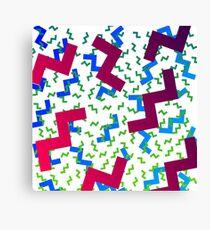 wacky pattern Canvas Print