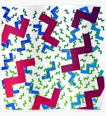 wacky pattern Poster