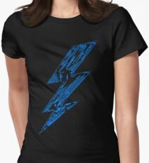 THUNDER FLASH Women's Fitted T-Shirt