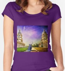 Return from the past. Women's Fitted Scoop T-Shirt